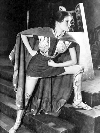 Katharine Hepburn - Hepburn in the role that brought her to the attention of Hollywood, 1932's The Warrior's Husband