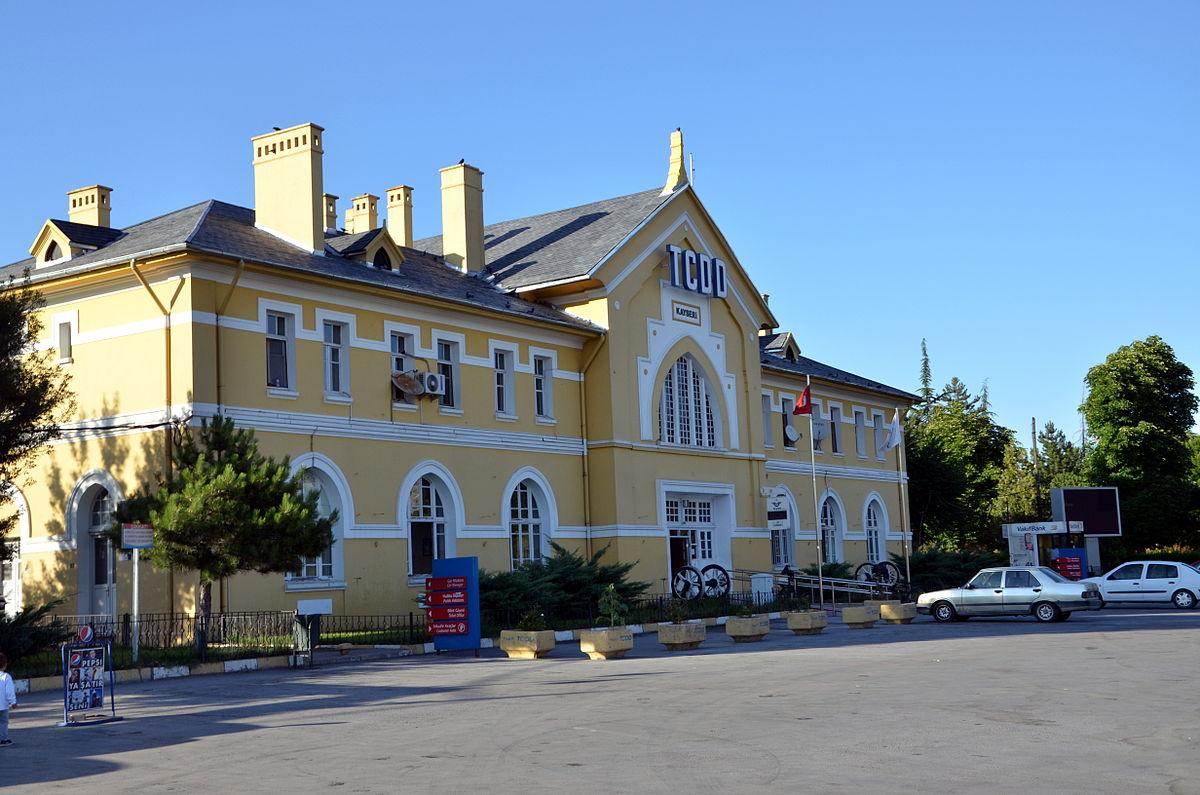 Kayseri railway station Wikipedia