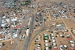 Aerial view of Keetmanshoop (2017)