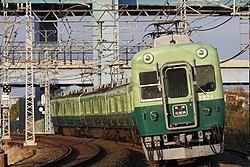 2600系(0番台車)(2006年12月22日撮影)
