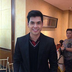 Ken Alfonso - Image: Ken Alfonso at the Cast of Kailan Ba Tama Ang Mali