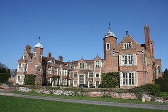 Kentwell Hall - South facade of Kentwell Hall