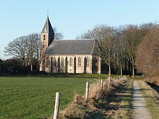 Ruinerwold Place in Drenthe, Netherlands