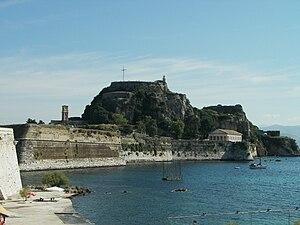 Old Fortress, Corfu - Image: Kerkyrapalaiofrourio