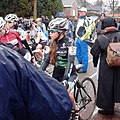 Keshia Verbeeck at the start of the Azencross 2012.jpg