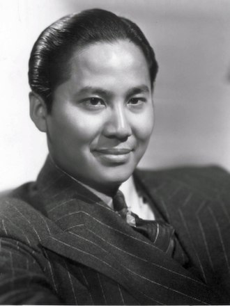 Keye Luke - Luke in Charlie Chan publicity photo