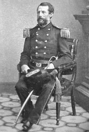 Erasmus D. Keyes - Keyes in uniform as a colonel in the 11th U.S. Infantry before his promotion to brigadier general.
