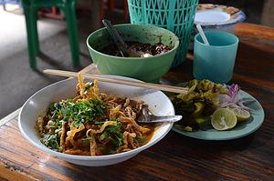 Khao soi - Image: Khao soi Chiang Mai