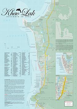 karta över khao lak Khao Lak – Wikipedia karta över khao lak