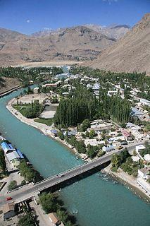 Khorugh Place in Gorno-Badakhshan Autonomous Region, Tajikistan