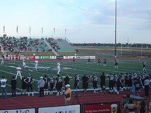 Saskatchewan Huskies football - Image: Kick Off