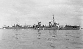 Japanese destroyer <i>Kikuzuki</i> (1926) ship