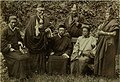 King of Sikkim with a group of Lama, Darjeeling, India, c. 1900.jpg