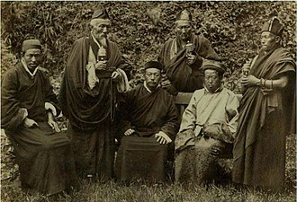 Darjeeling - the King of Sikkim in Darjeeling about 1900