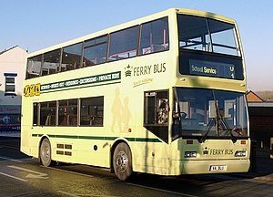 The Kings Ferry - The former Ferrybus, an East Lancs Cityzen bodied Scania N113