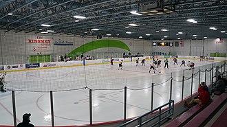 Kitchener Memorial Auditorium Complex - Image: Kinsman Arena Kitchener Memorial Auditorium Kitchener, ON