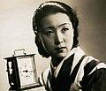 Kinuyo Tanaka in Jinsei no onimotsu 1935.jpg