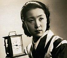 Kinuyo Tanaka en Jinsei neniu onimotsu 1935.jpg