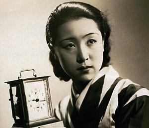 Kinuyo Tanaka - Kinuyo Tanaka in Jinsei no onimotsu (1935)