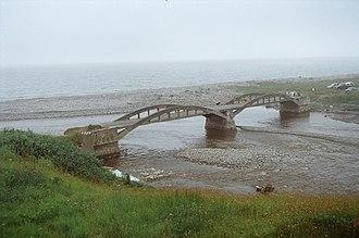 Kippens - Image: Kippens bridge NFLD