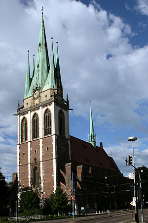 Ulm - Saint George's Catholic church, Ulm