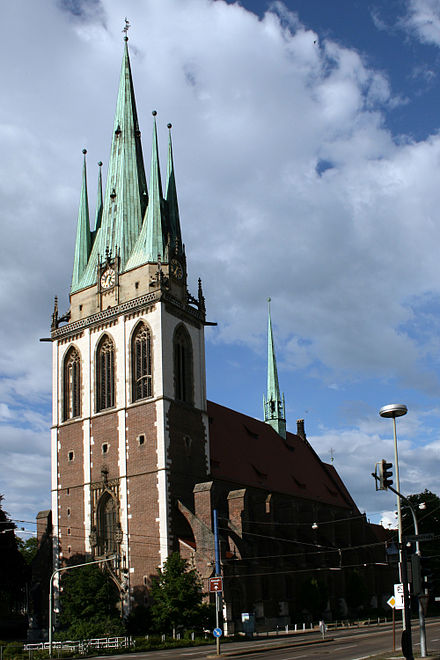 Saint George's Catholic church, Ulm Kirche St Georg Ulm.jpg