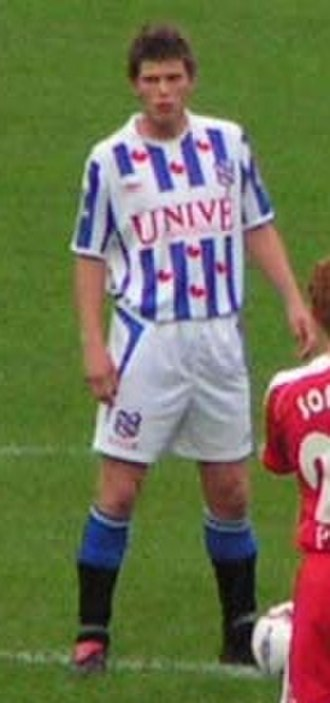 Klaas-Jan Huntelaar - Huntelaar with Heerenveen