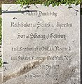 Klagenfurt Pfarrkirche St Georgen am Sandhof Epitaph Richard von Sterneck 28052016 2113.jpg