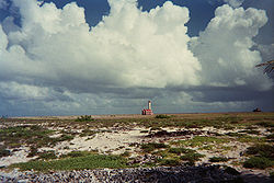 Klein curacao lighthouse areal.jpg