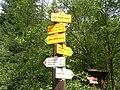 Kořenov, Martinské údolí, rozcestník.jpg
