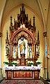 Kościół św. Jana Chrzciciela w Raciborzu - 1 ołtarz boczny.JPG