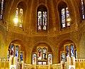 Koekelberg Basilique Nationale Sacré-Coeur Innen Chorfenster.jpg