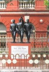 Kolkata BBD statues