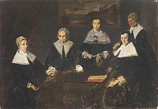 Regentesses of the Old Men's Almshouse in Haarlem (copy)