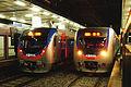 Korail Line 1 trains at Yongsan.jpg