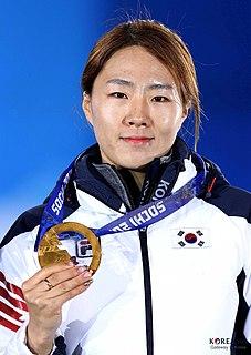Lee Sang-hwa Speed skater from South Korea