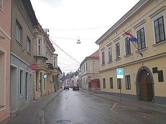 D1 road (Croatia) - Krapina, on the D1 route