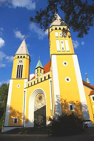 Schwandorf - Kreuzberg Church, Schwandorf