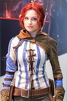 Kristina as Triss from Witcher 3 at Igromir 2013 (10091562746).jpg
