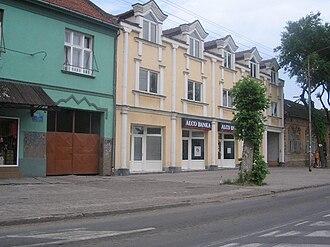 West Bačka District - Image: Kula, Serbia, tidy houses