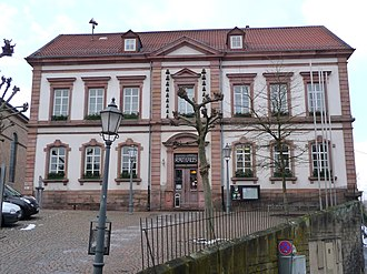 Kusel - Town Hall with carillon