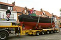 Kustvissersvaartuig OD.1 Martha wordt overgebracht naar het nieuwe Nationaal Visserijmuseum te Oostduinkerke - 372663 - onroerenderfgoed.jpg