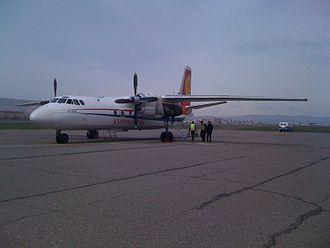 Air Kyrgyzstan - Now retired Antonov An-24 of Kyrgyzstan Air Company