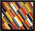 László Moholy-Nagy, dipinto di campi arati, 1920-21 (albertina).jpg