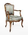 Länstol, 1700-talets mitt - Hallwylska museet - 110061.tif