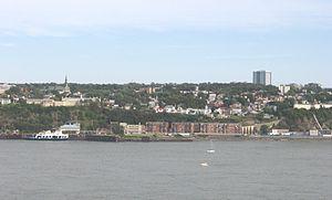 Communauté métropolitaine de Québec - Image: Lévis