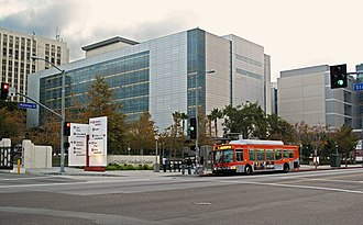 LAC+USC Medical Center - The outpatient clinic of the new hospital, opened November 2008.