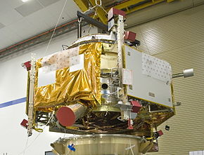 alt=Description de l'image LCROSS - Shepherding Spacecraft.jpg.