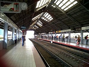 Quirino LRT station - Quirino Avenue station