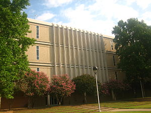 Louisiana State University in Shreveport - Four-story William H. Bronson Hall houses classrooms and offices. It is named for a former publisher of the Shreveport Times.